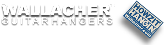 WALLACHER™ GUITAR HANGERS